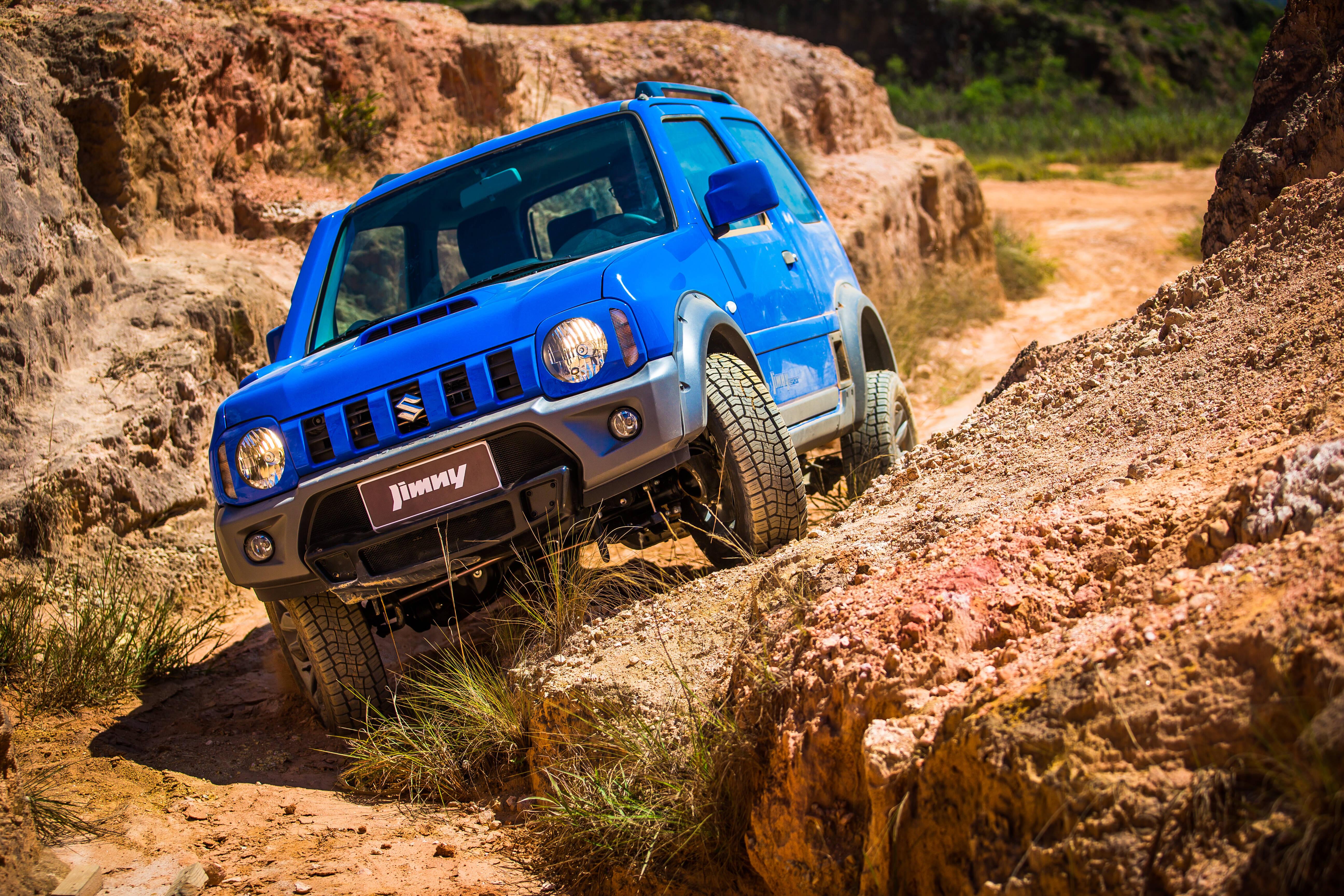 Suzuki Jimny . Foto: Divulgação