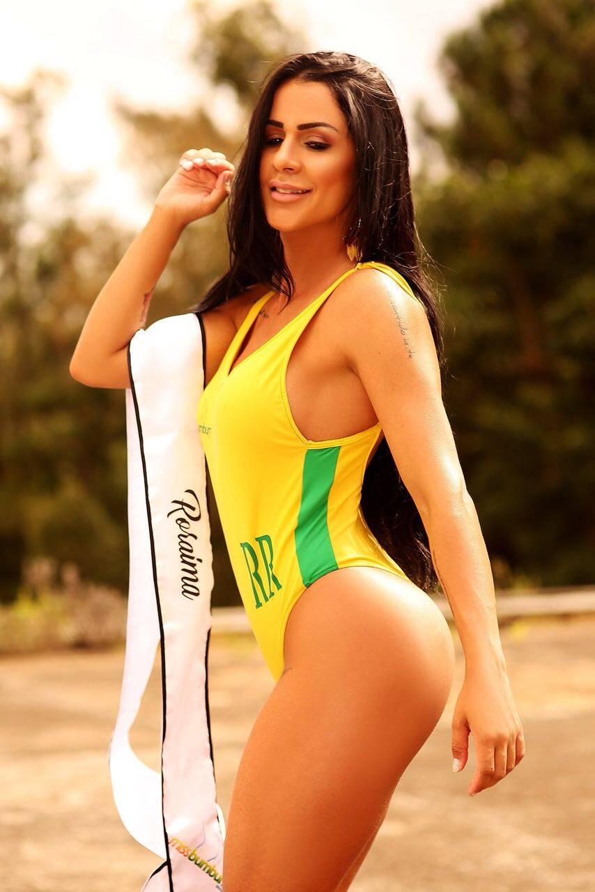 Cinthia Gomes, 28 anos, 100cm de bumbum, Roraima, Secretária. Foto:  PATRICK BRITO | MBB18