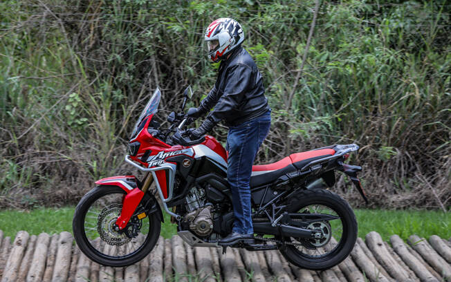 Honda CRF 1100L Africa Twin DCT. Foto: Divulgação