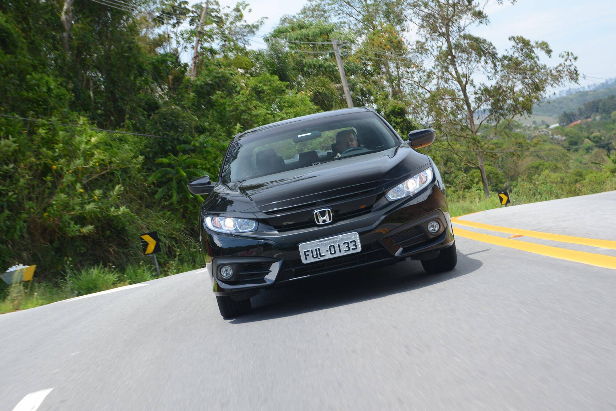 Honda Civic Sport. Foto: Divulgação/Honda