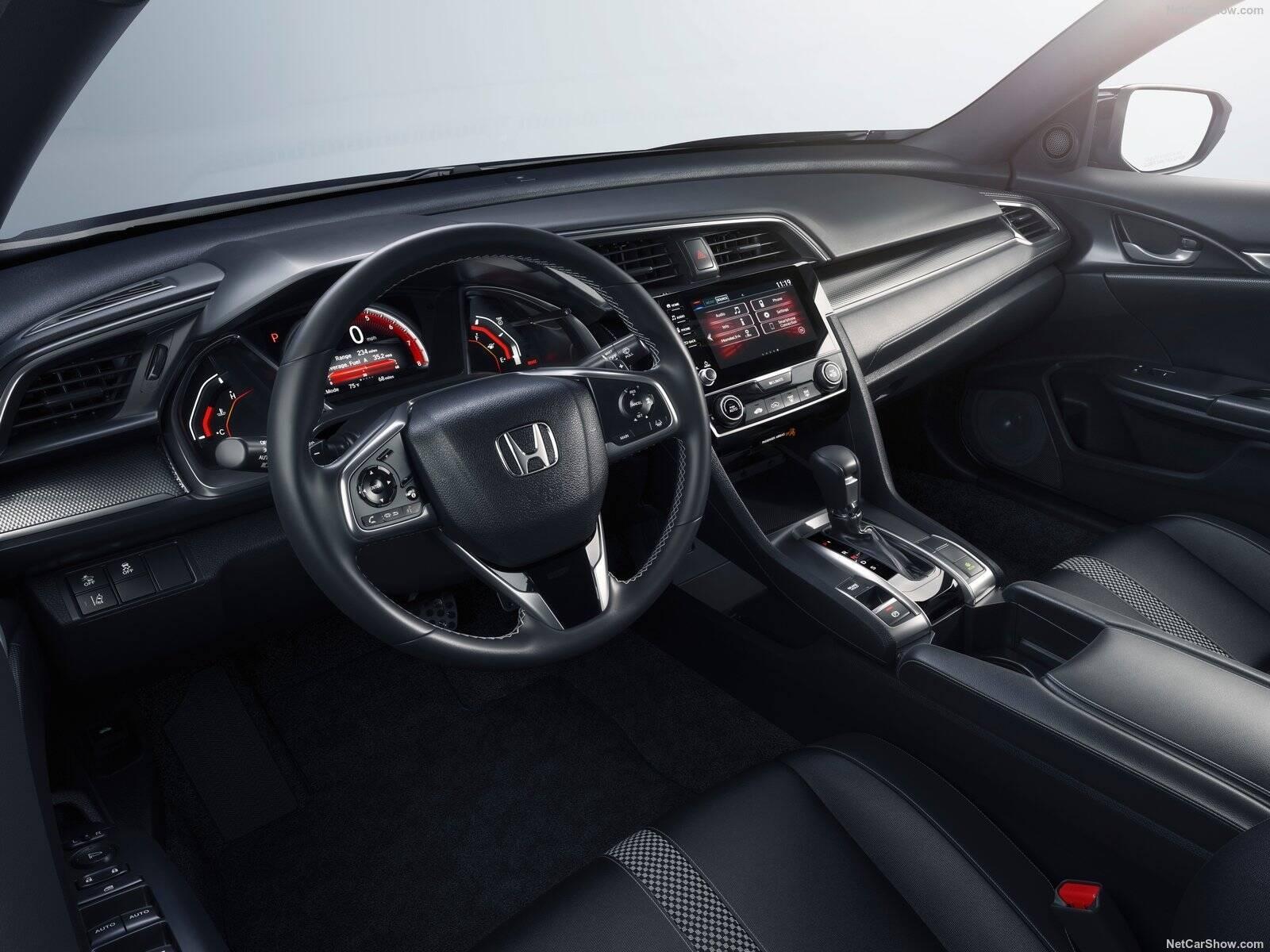 Honda Civic. Foto: Divulgação