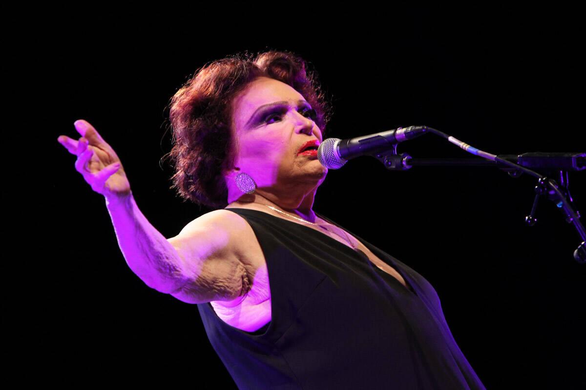 Bibi Ferreira é nome artístico de Abigail Izquierdo Ferreira. Foto: Foto Rio News