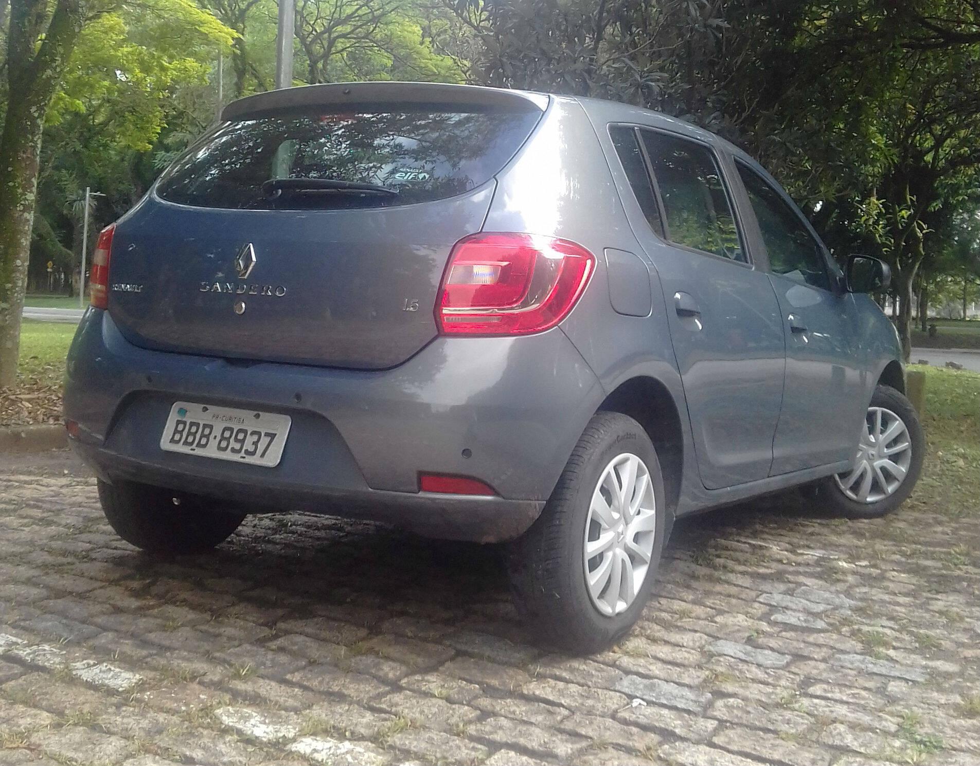 Renault Sandero. Foto: Carlos Guimarães/iG