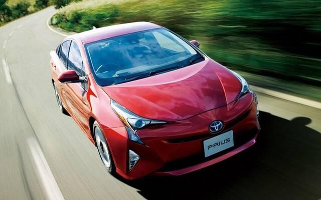 O Toyota Prius, híbrido-elétrico, 12,7% de desvalorização depois de um ano. Foto: Divulgação