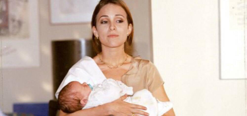 """Em 1999 Gabriela Duarte viveu Maria Eduarda em """"Por Amor"""". Na trama, ela e sua mãe ficam grávidas ao mesmo tempo. À época, a atriz ainda não era mãe. Foto: Divulgação / Rede Globo"""