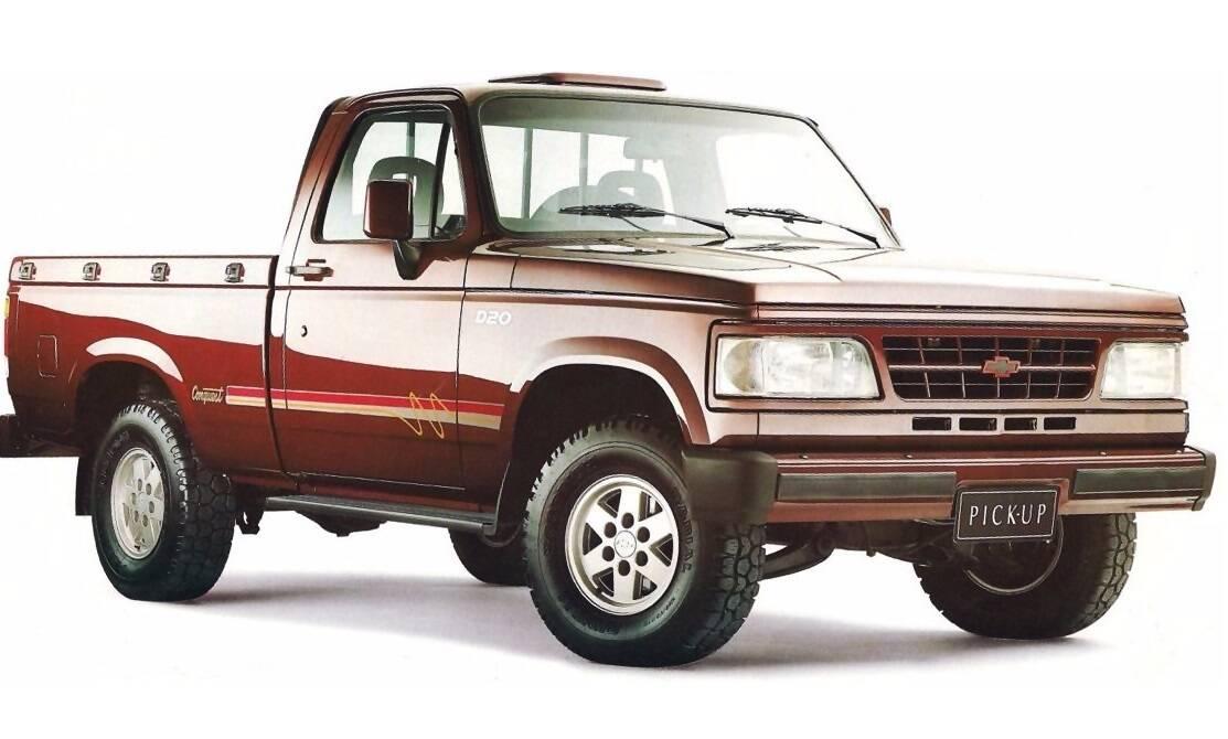 Chevrolet D20/C20: 1.500. Foto: Divulgação