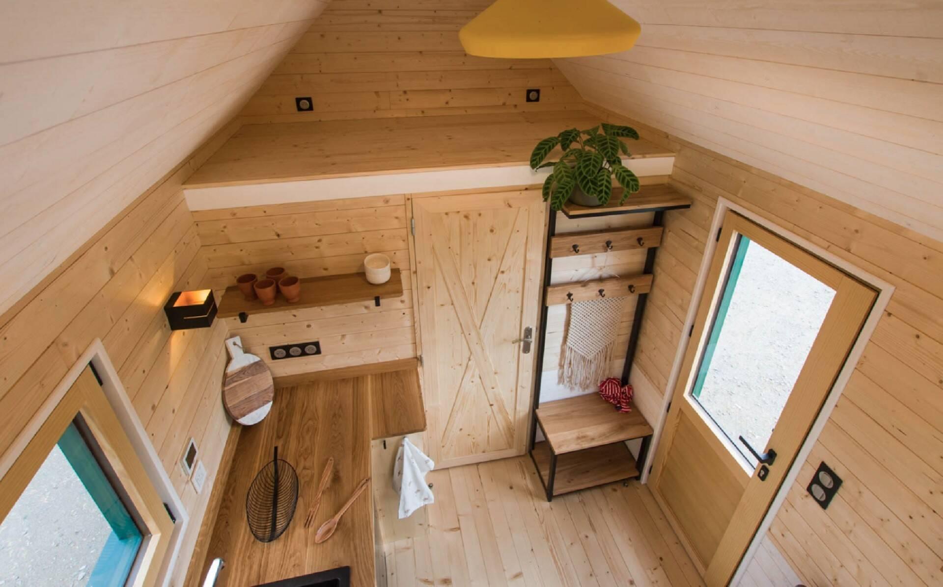 """""""La Salamandre"""" é um casa sobre rodas que poder ser alugada na França por viajantes.. Foto: Divulgação"""