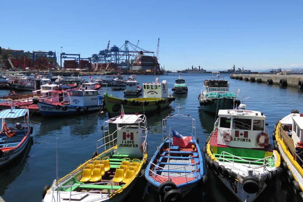 Porto de Viña del Mar. Foto: Reprodução. Foto: Reprodução
