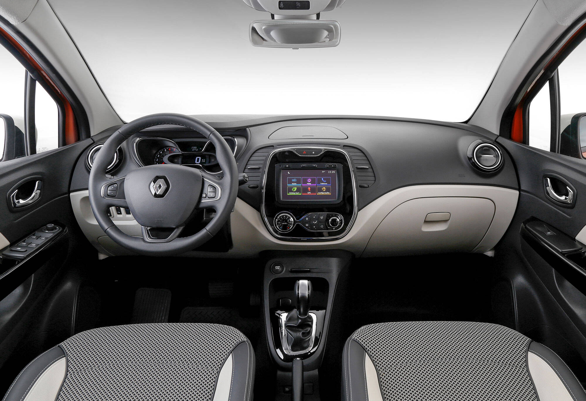 Renault Captur 1.6 CVT. Foto: divulgação/Renault
