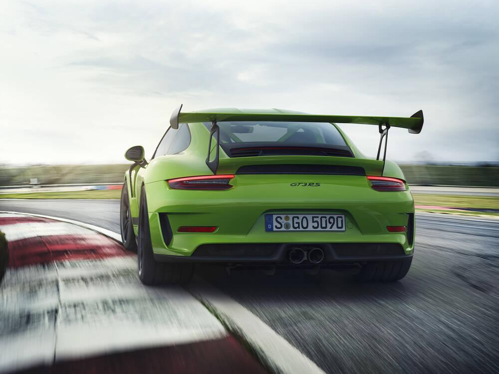 Porsche 911 GT3 RS. Foto: Divulgação
