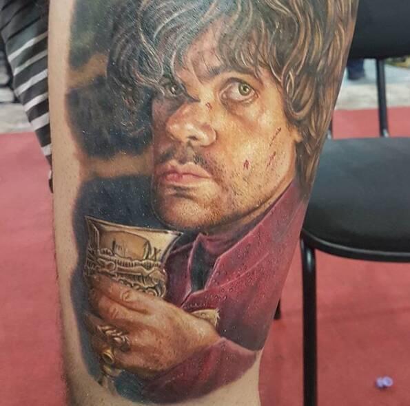 Tatuagem de fã. Foto: Reprodução/ Instagram