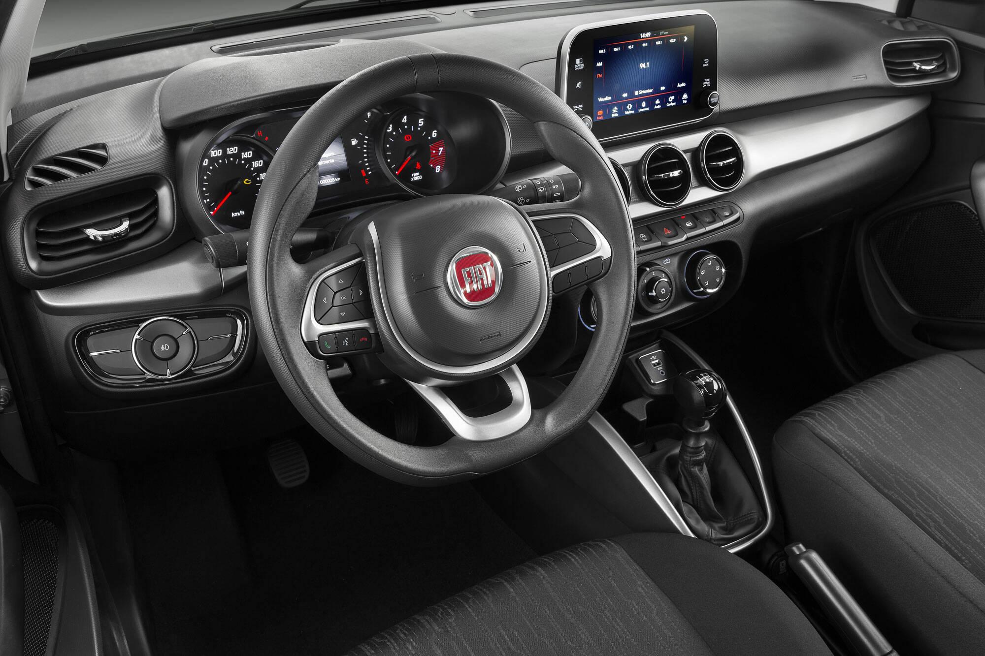 Fiat Argo Drive 1.0. Foto: Divulgação/Fiat-Chrysler Automóveis