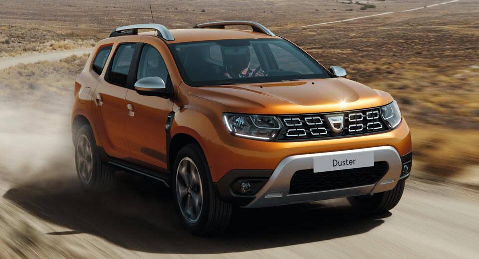 Dacia Duster. Foto: Divulgação