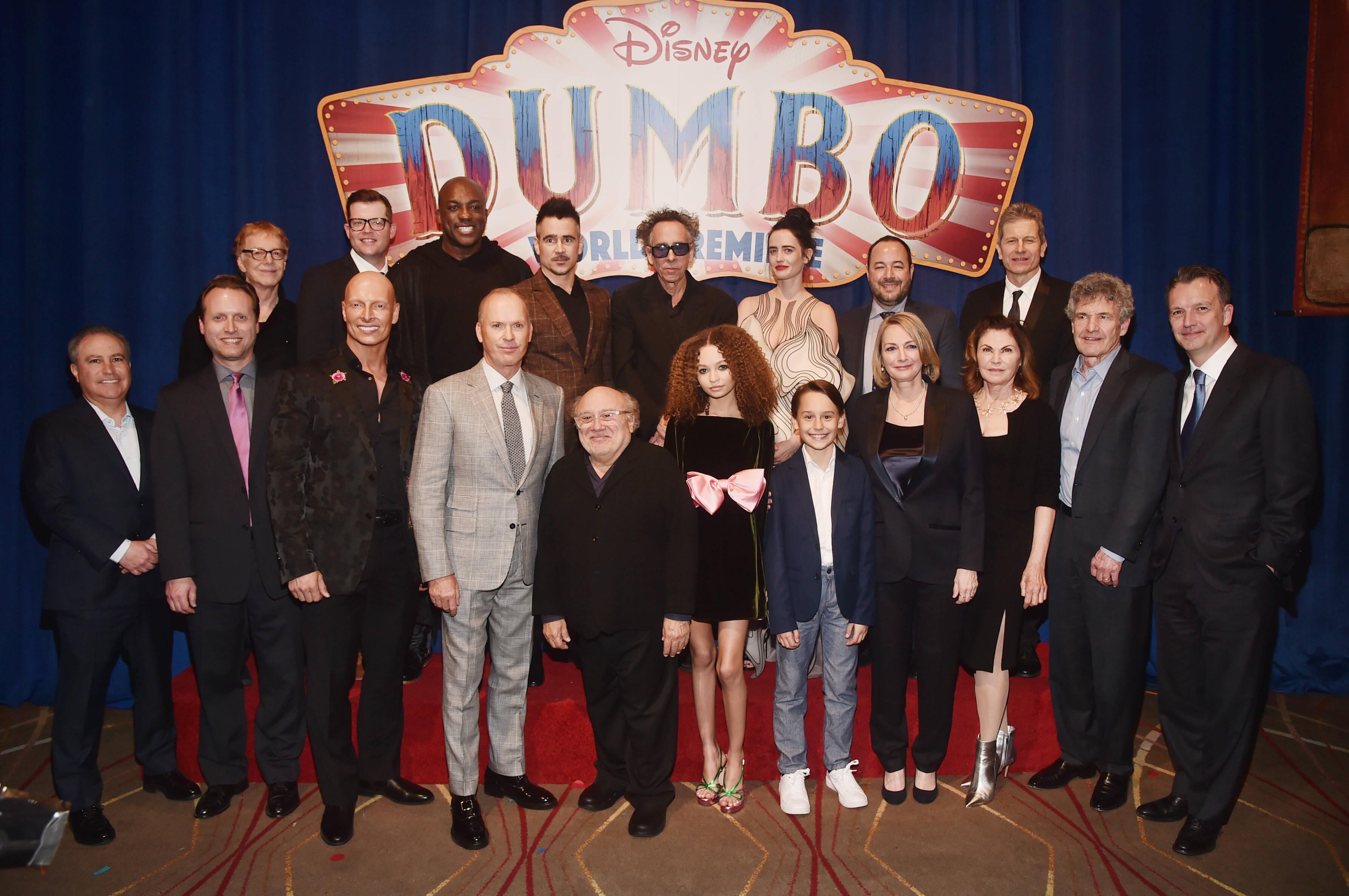 """Famosos comparecem a première de """"Dumbo"""". Foto: Divulgação / Disney"""