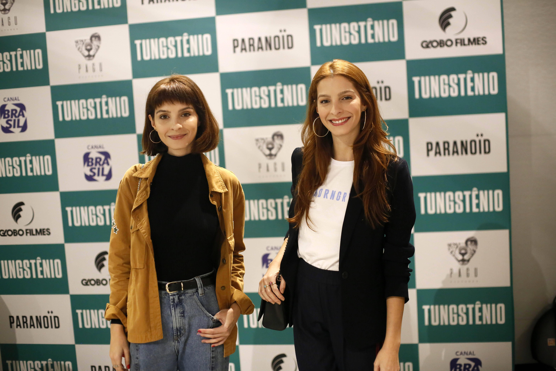 """Celebridades comparecem à pré-estreia de """"Tungstênio"""". Foto: Divulgação"""