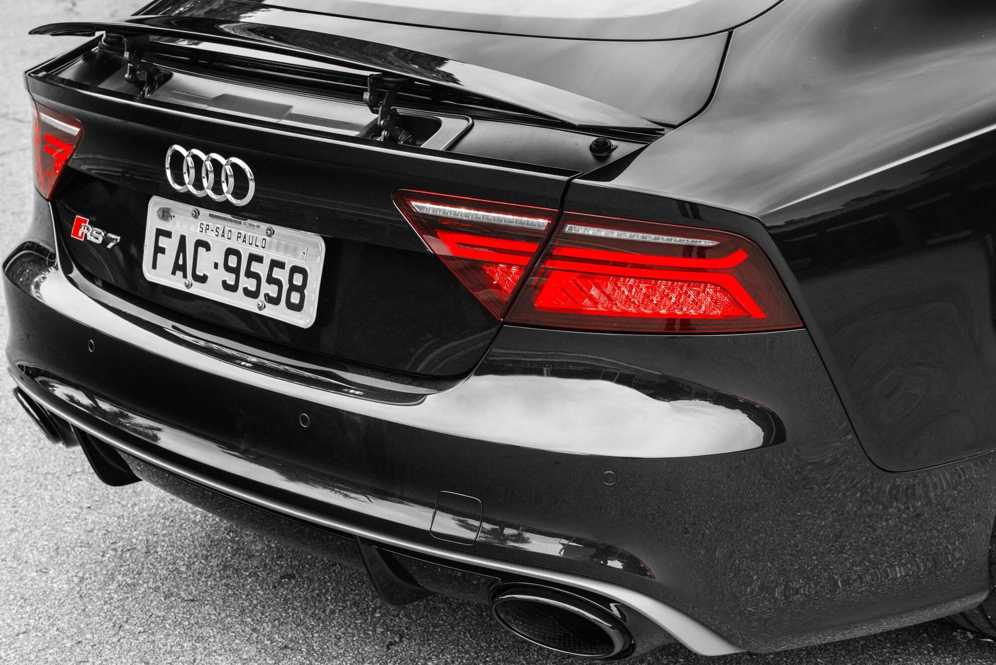 Audi RS7 Peformance. Foto: Divulgação/Audi