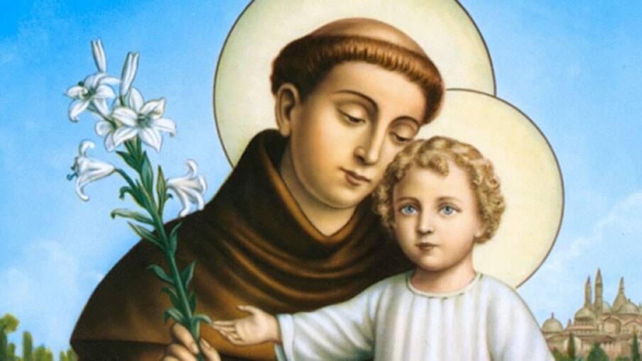 O santo casamenteiro Santo Antônio. Foto: Reprodução/A Voz da Serra