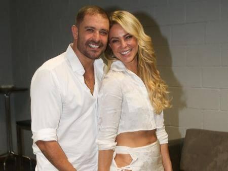 Paolla Oliveira e Diogo Nogueira. Foto: Reprodução