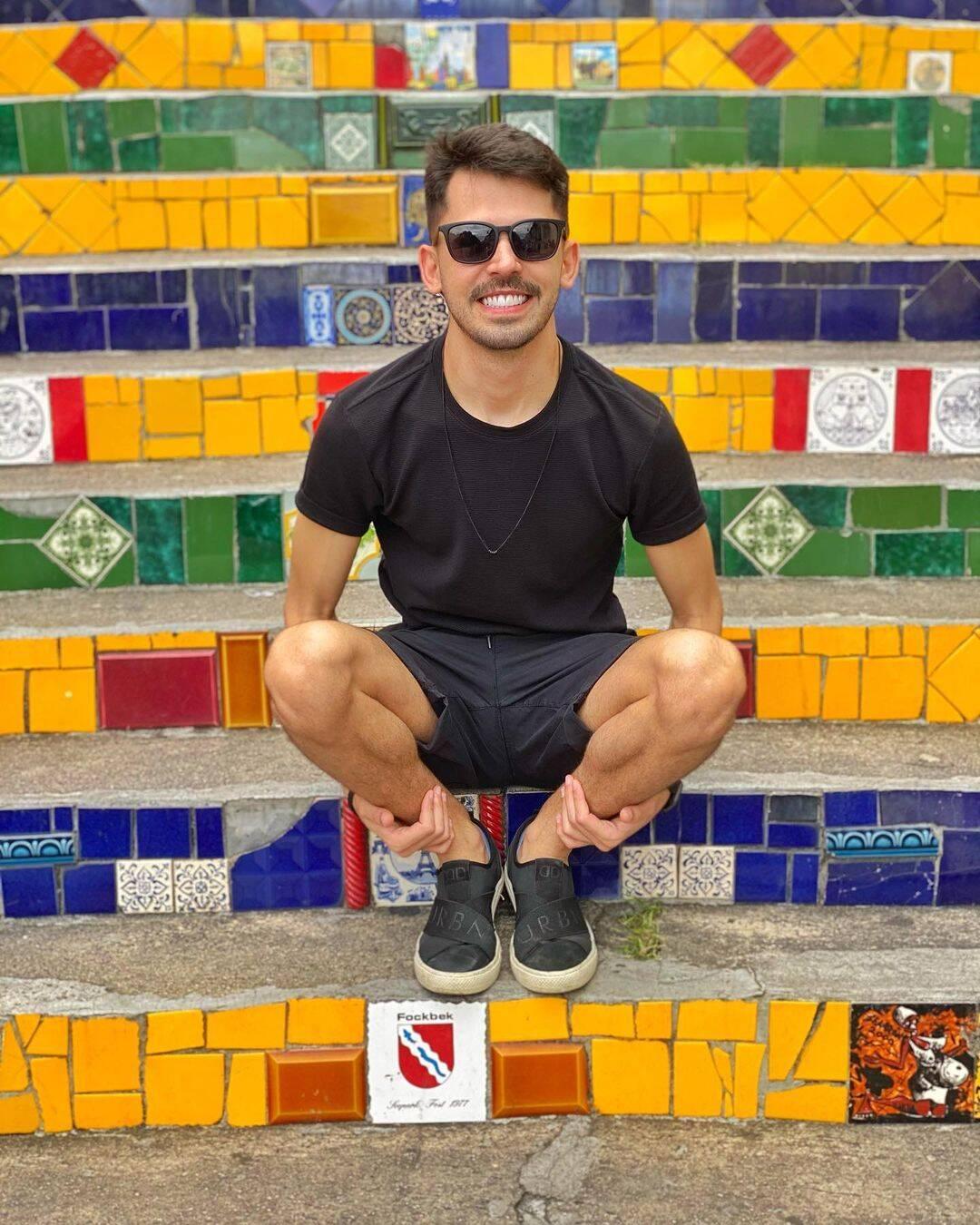 Plinio Vasconcelos, novo affair de Gil do Vigor. Foto: Instagram