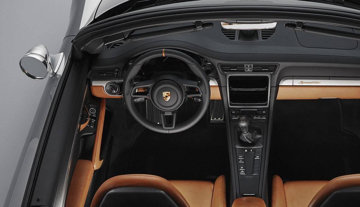 Porsche 911 Speedster. Foto: Divulgação