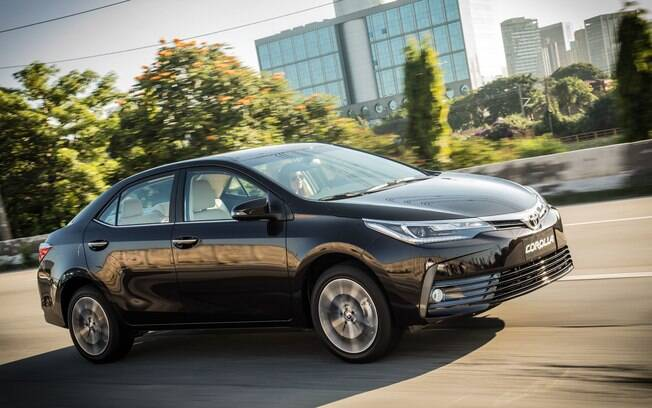 Toyota Corolla - Depreciação de 9,3%. Foto: Divulgação