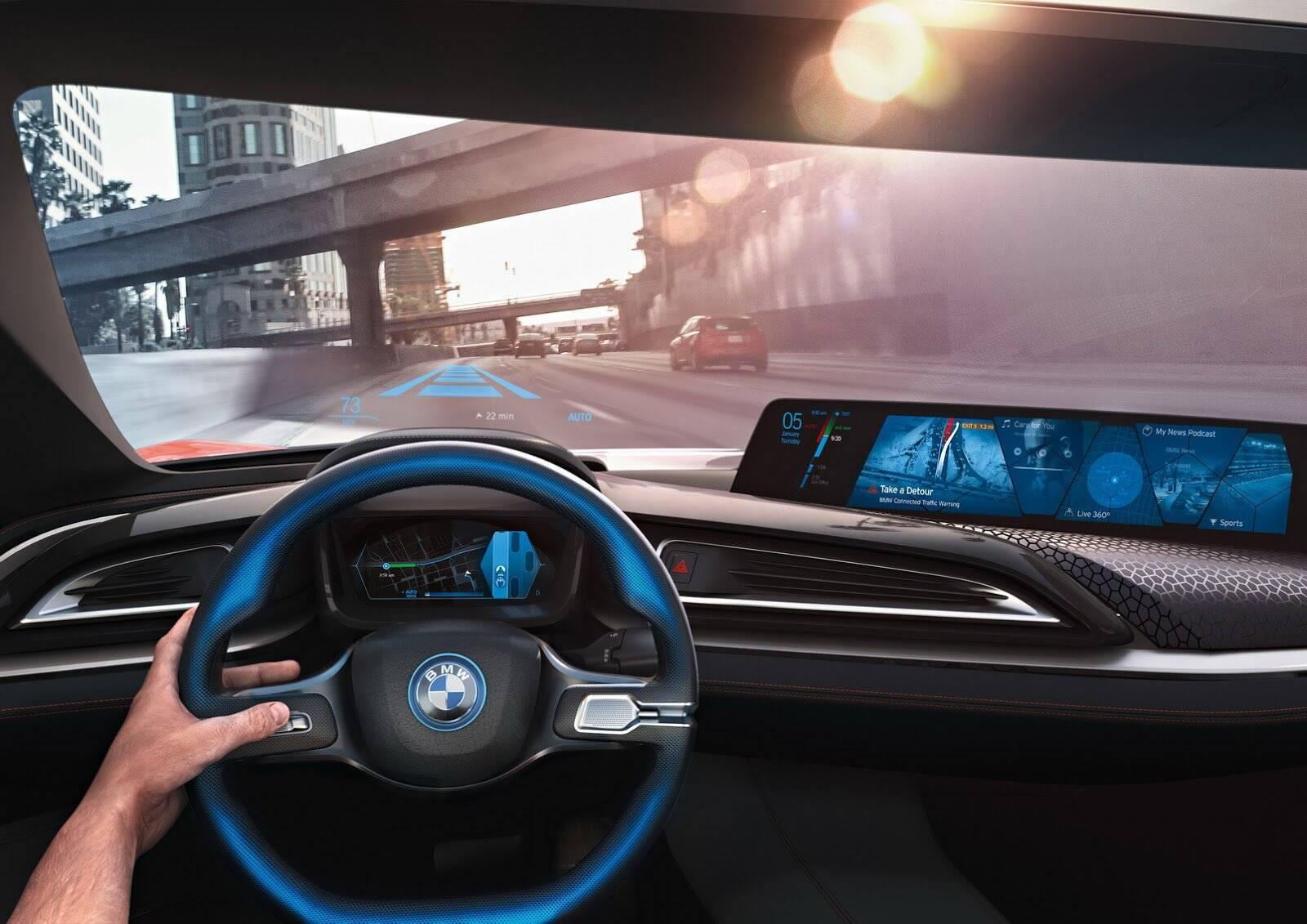 Conceito do BMW i4 - Salão de Paris 2018. Foto: Divulgação