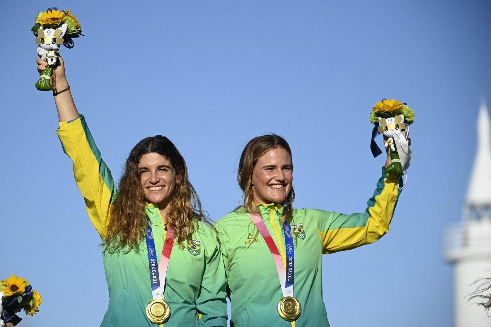 Vela aumenta coleção de ouros para o Brasil e família Grael chega a nove medalhas. Foto: redacao@odia.com.br (Hugo Perruso)