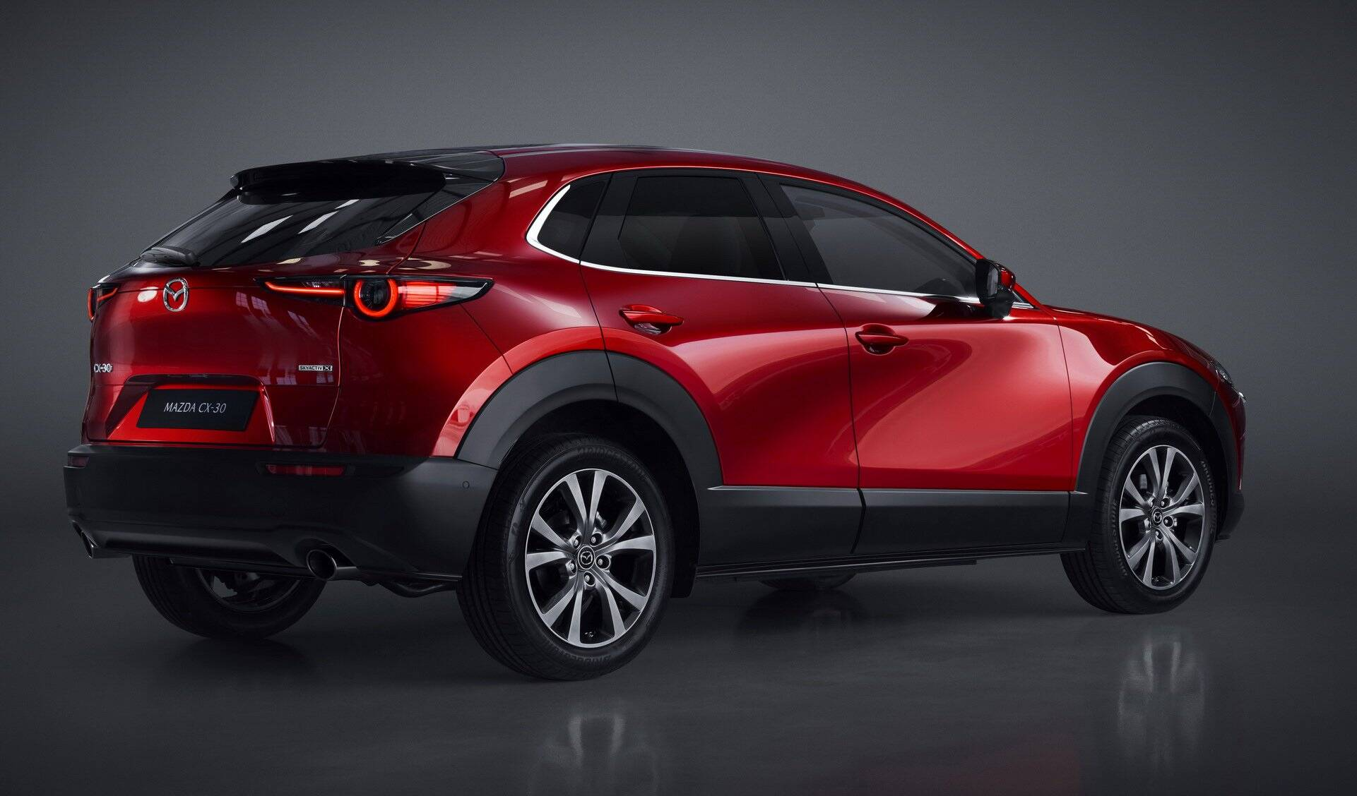 Mazda CX-30. Foto: Divulgação