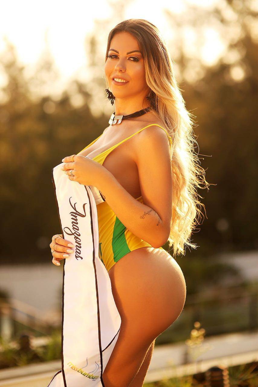 Paula Oliveira, 27 anos, 117cm de bumbum, Amazonas, Modelo. Foto: PATRICK BRITO | MBB18