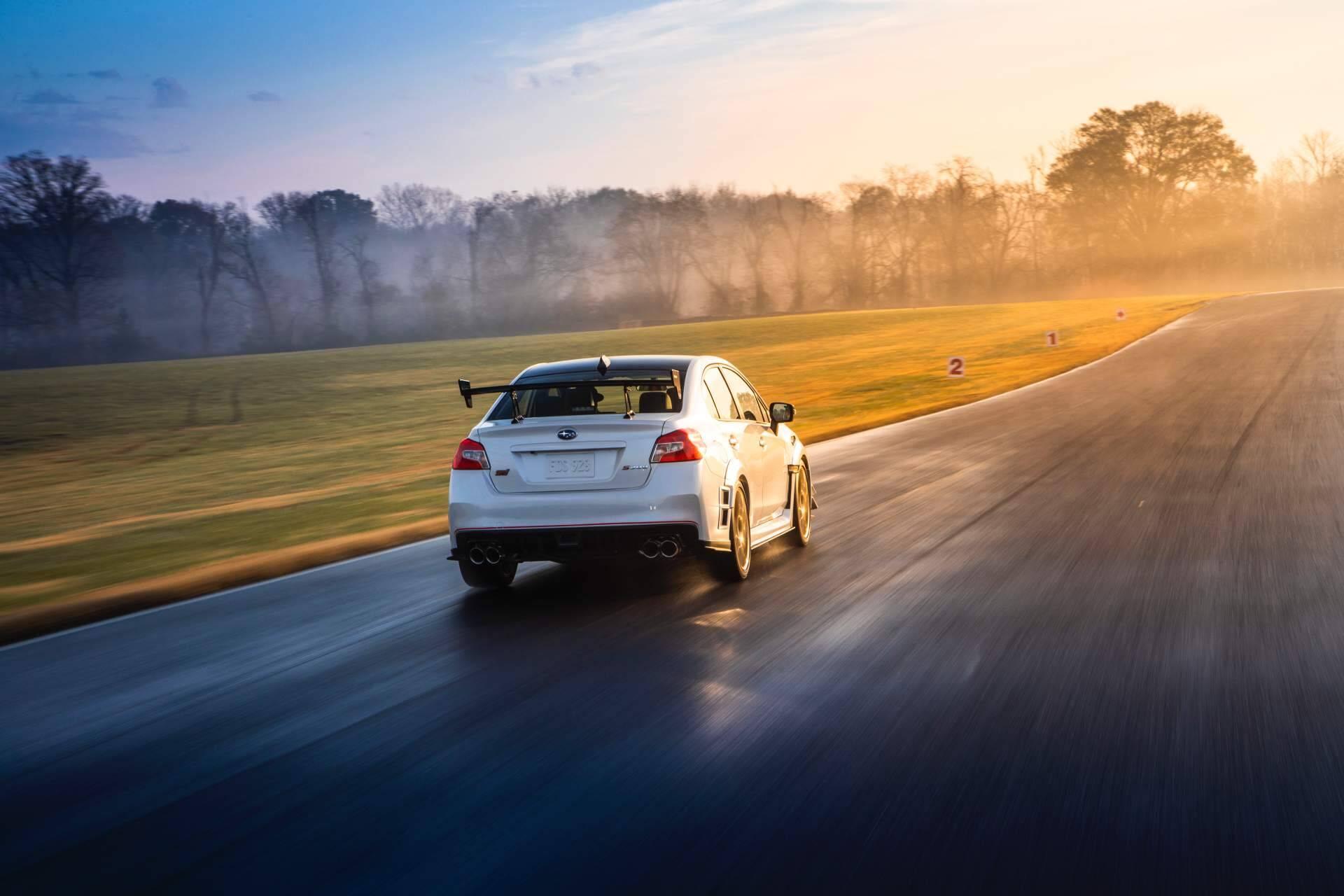 Subaru WRX STi S209. Foto: Divulgação