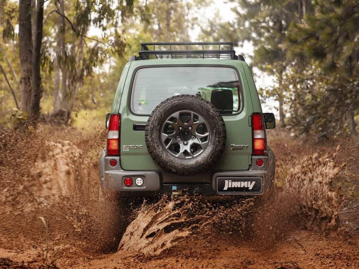 Suzuki Jimny 4Sport Forest. Foto: Divulgação