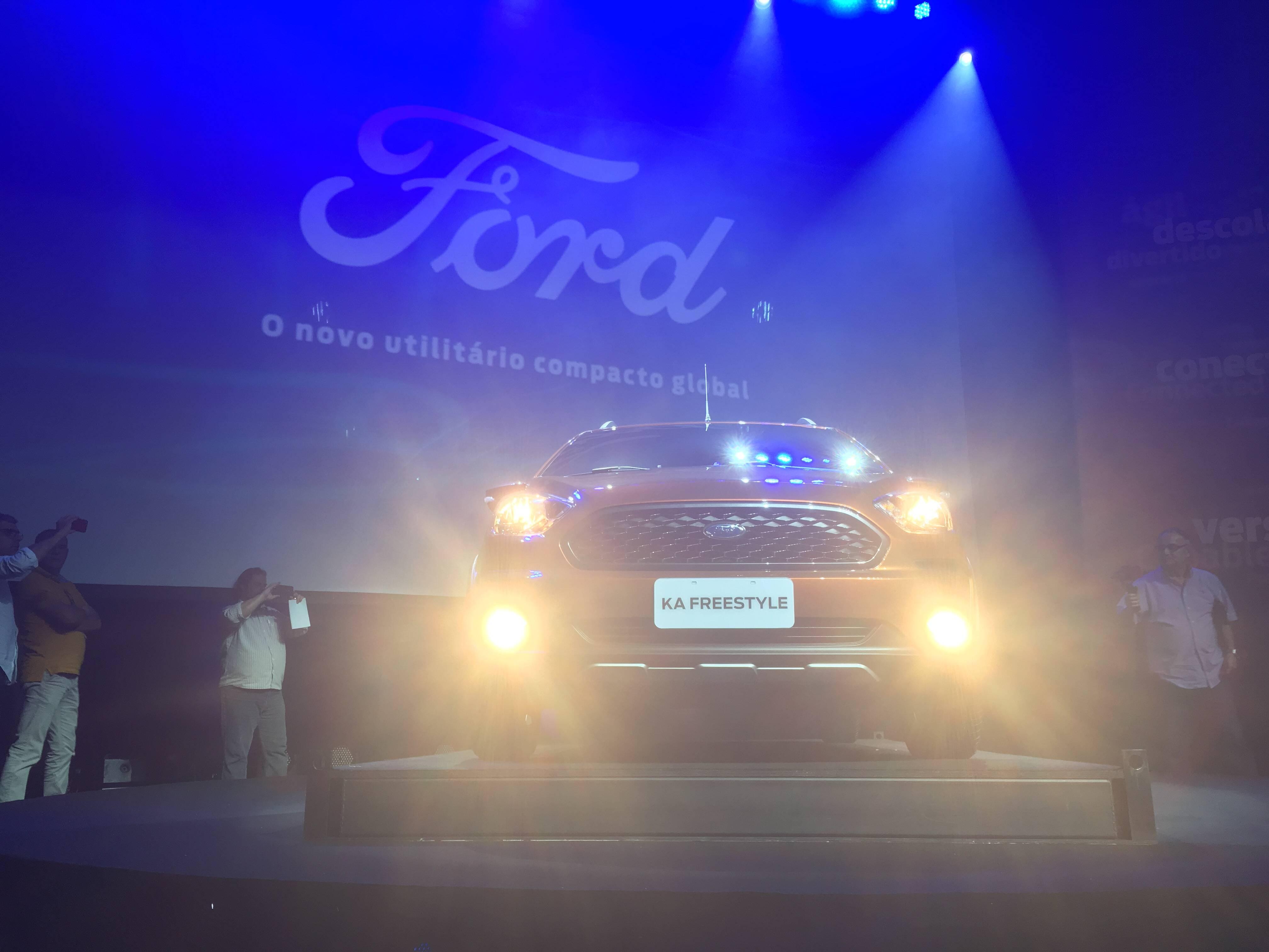 Ford Ka Freestyle. Foto: Guilherme Menezes