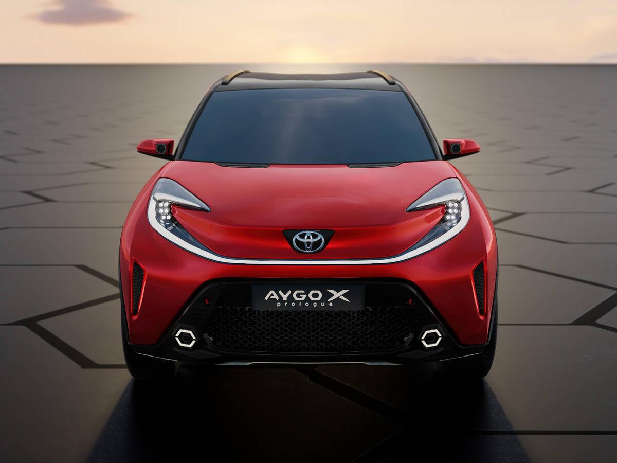 Toyota Aygo X prologue. Foto: Divulgação