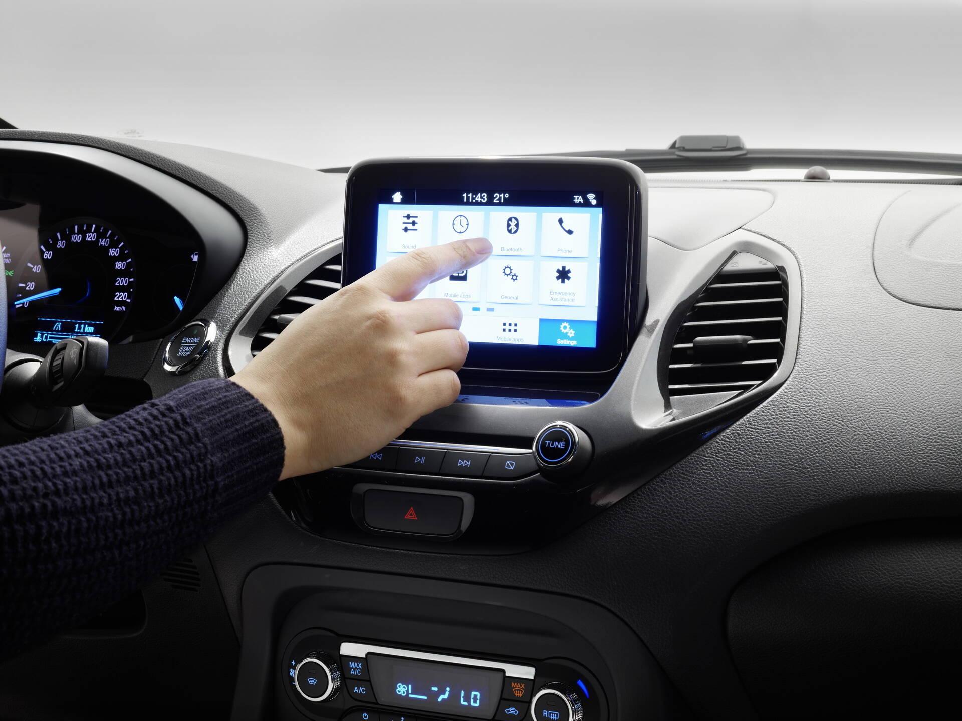 Ford Ka Freestyle Interior. Foto: Divulgação