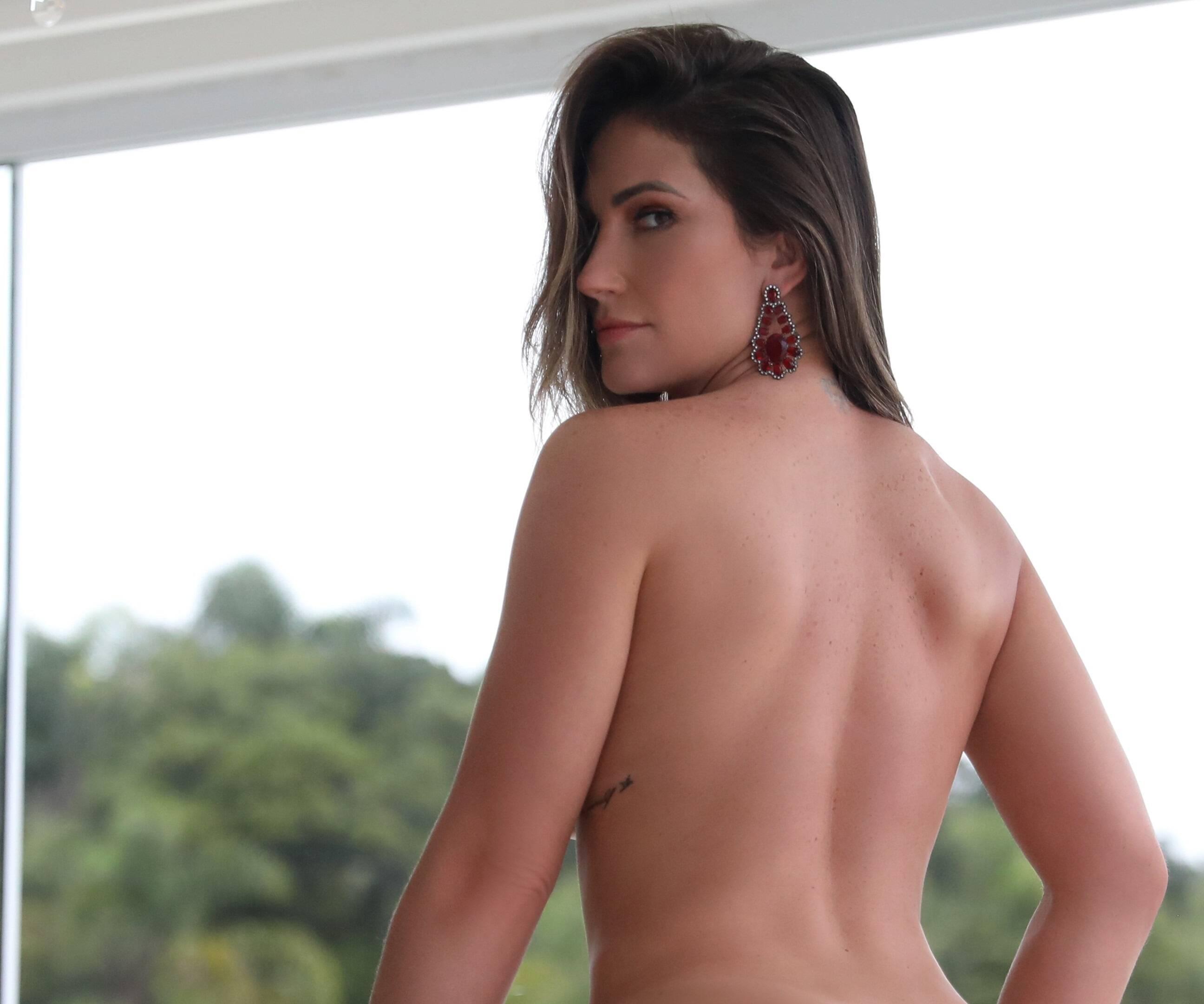 Ana Lucia Fernandes em ensaio para o site Diamond Brazil. Foto: Davi Borges/Diamond Brazil
