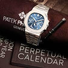 Patek Philippe Nautilus Perpetual. Foto: Reprodução