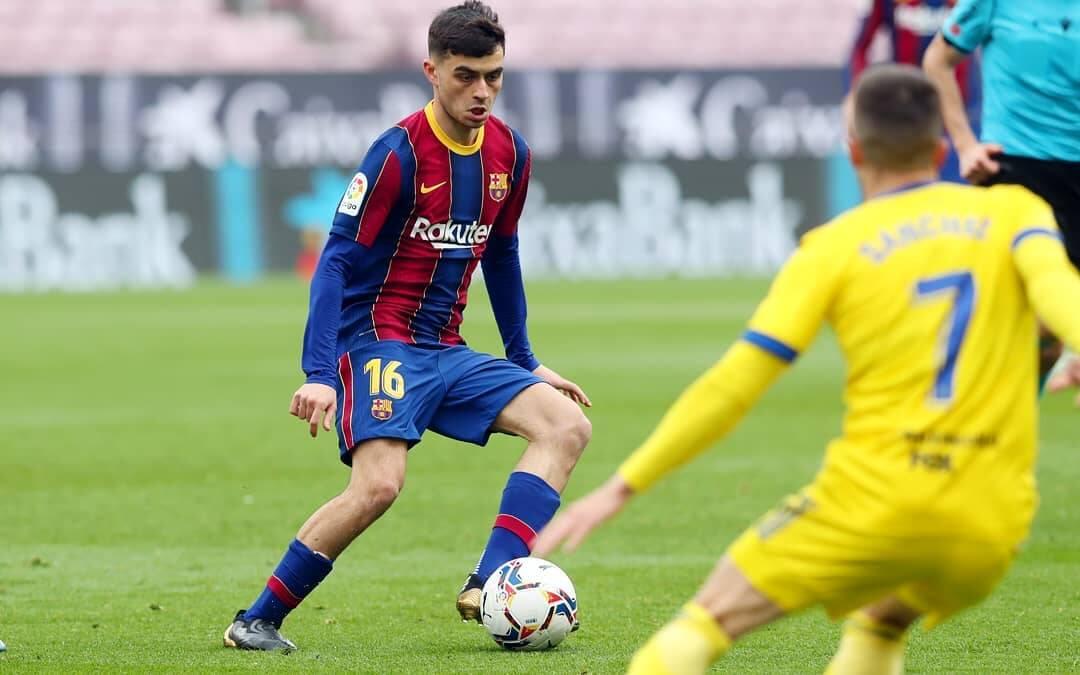 Pedri foi uma das salvações de uma temporada conturbada para o Barcelona. Foto: Reprodução/Instagram