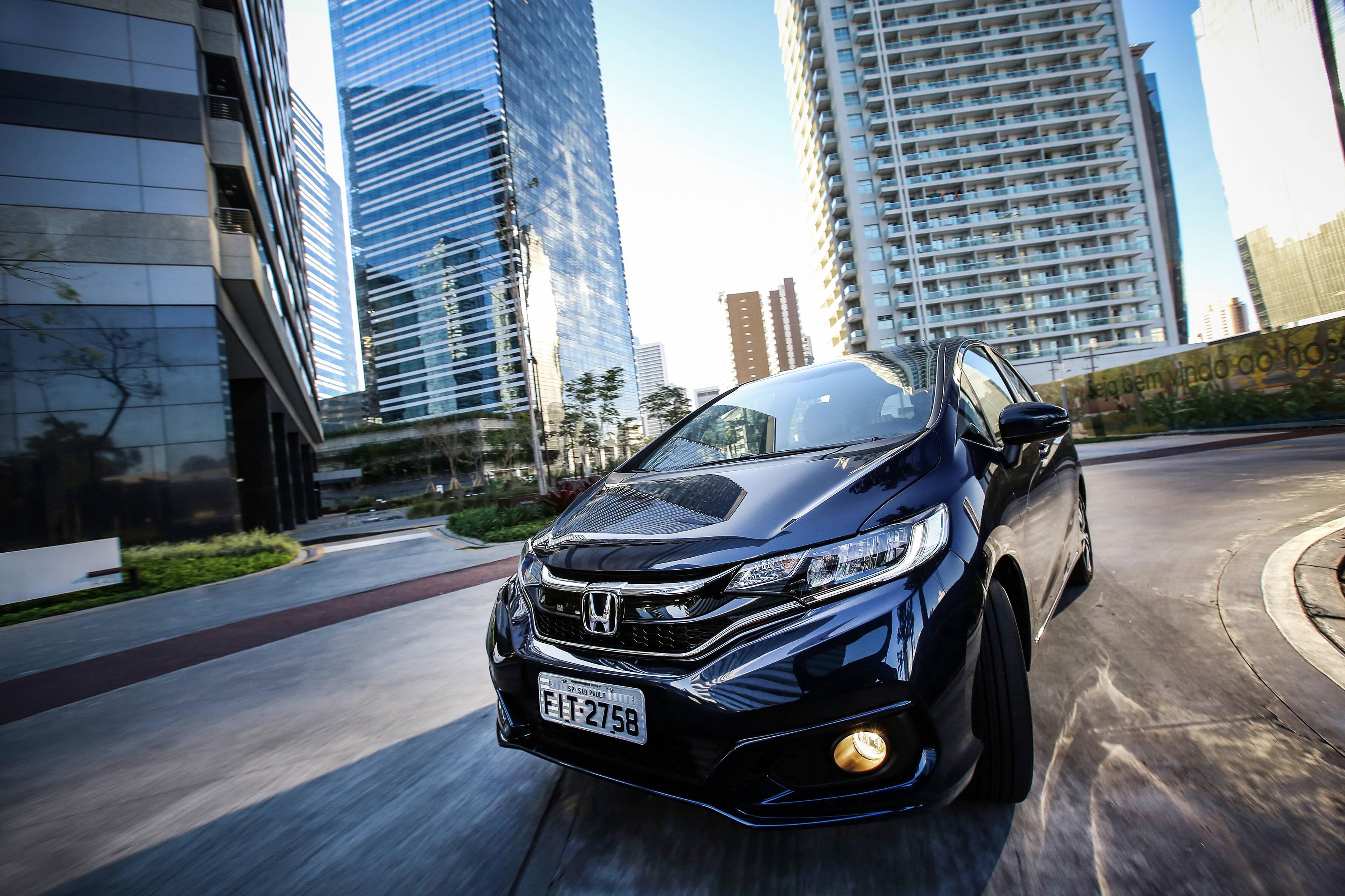 Honda Fit 2018. Foto: Divulgação