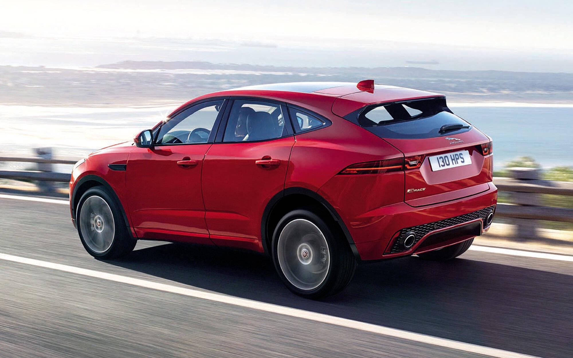Jaguar E-Pace. Foto: Divulgação/Jaguar Land Rover