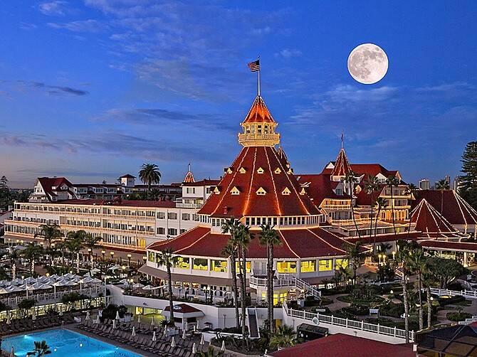 Hotel del Coronado, em San Diego. Foto: San Diego Business Journal
