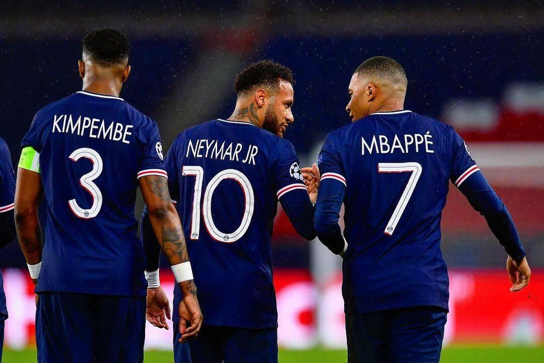 Neymar e Mbappé. Foto: Instagram/PSG