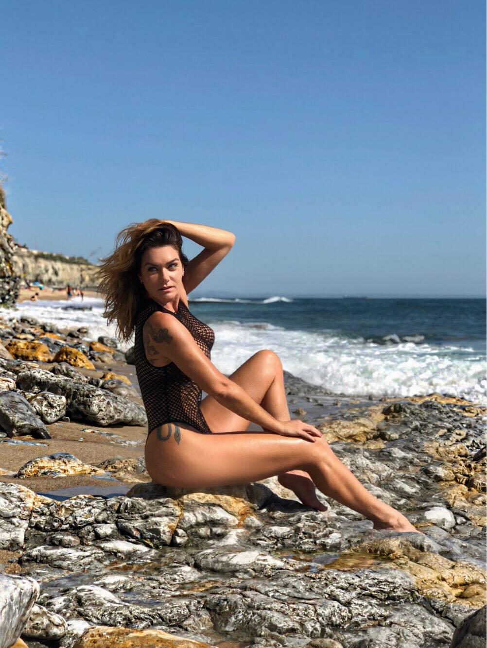 Luize Altenhofen em Portugal. Foto: Del Santana