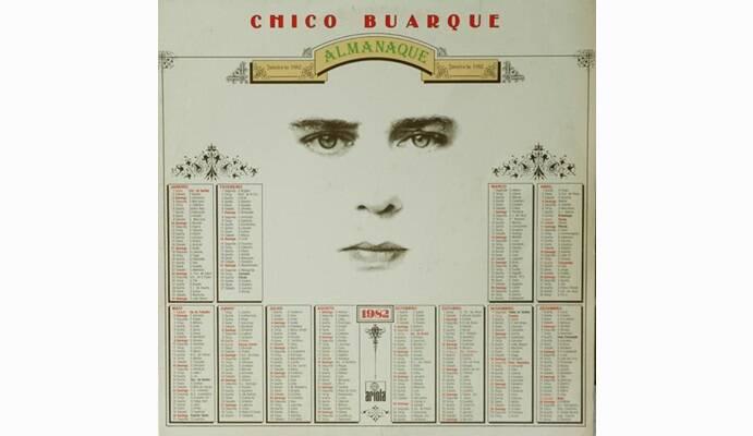 """Capa de """"Almanaque"""", lançado em 1981.. Foto: Reprodução/ Divulgação"""