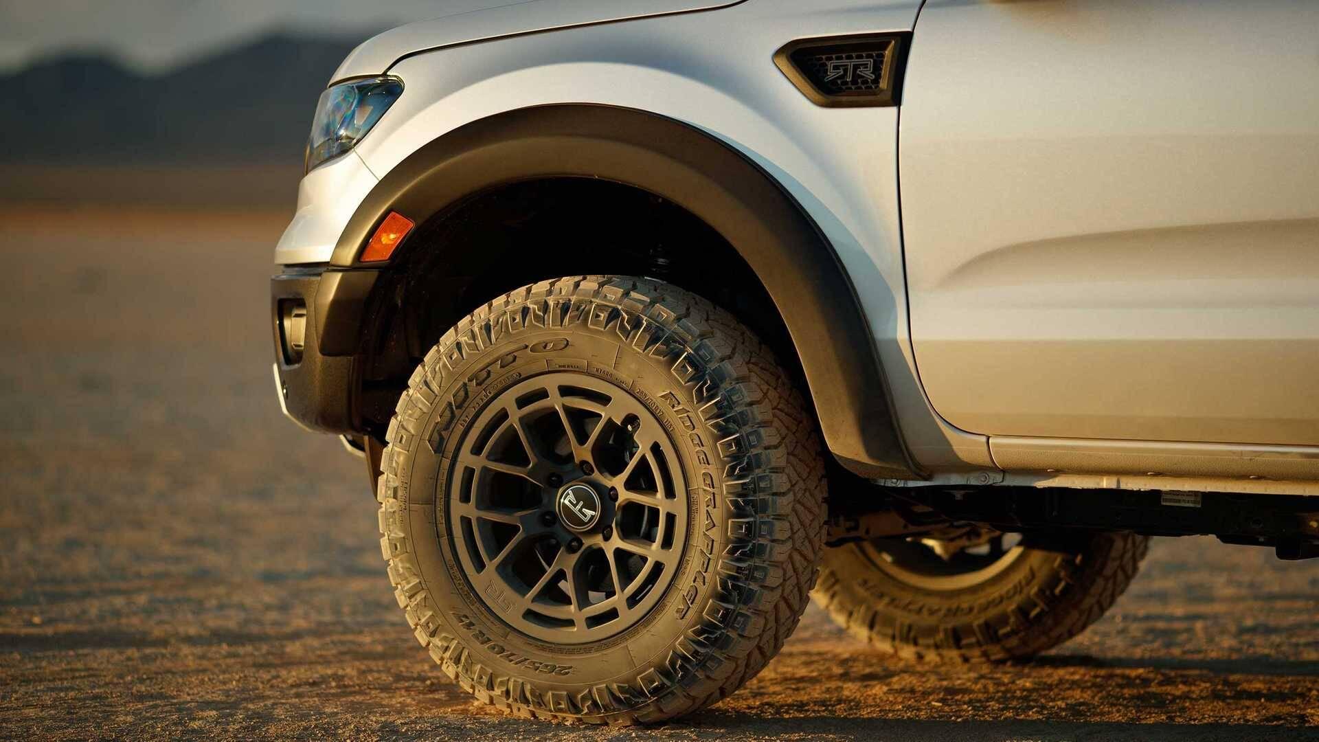 Ford Ranger RTR. Foto: Divulgação