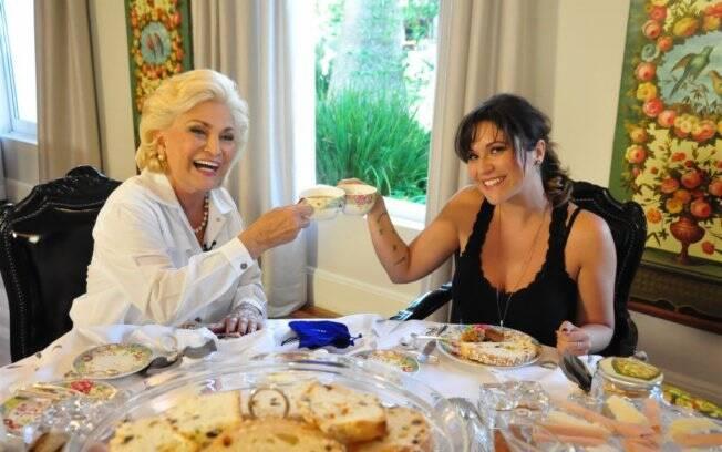 Hebe entrevista Maria Rita para o programa desta terça-feira (03)