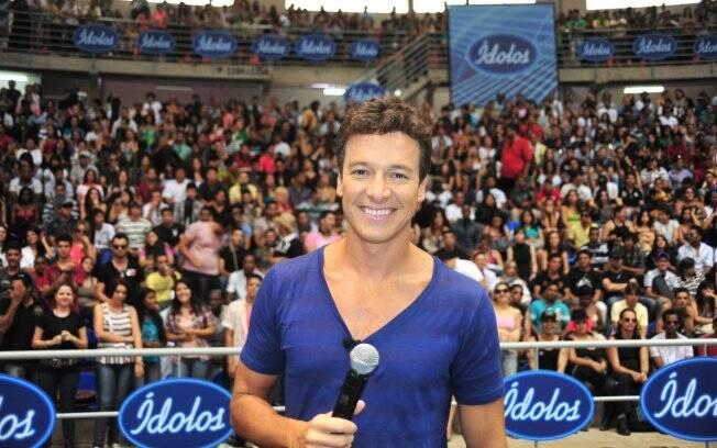Rodrigo Faro, durante a audição em Uberlândia