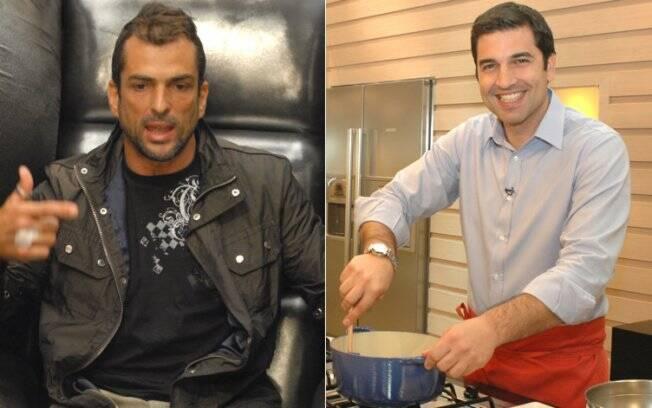Marcelo Dourado (esquerda) e Edu Guedes (direita): ícones dos homens alfa e beta