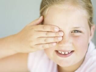 A longo prazo, ambliopia pode causar perda total da visão do olho ruim