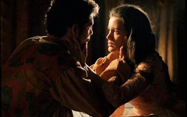Jesuíno se despede de Açucena e diz que nunca mais voltará a ver a moça