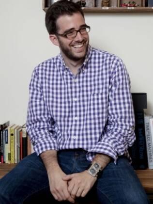 Benjamin Clymer, 28, dono de uma revista online sobre relógios